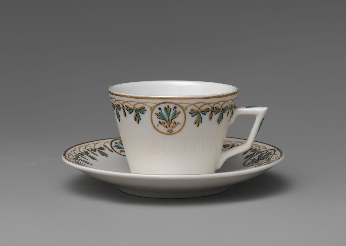 Union Porcelain Works | Demitasse Cup and Saucer | American | The Met