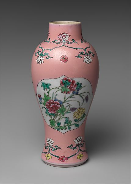 Baluster Vase Chinese The Met