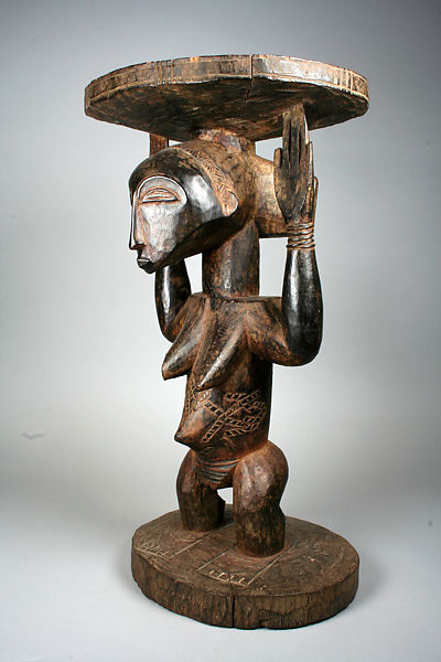 Fine Prestige Stool Female Caryatid Hemba Peoples The Met Caraccident5 Cool Chair Designs And Ideas Caraccident5Info