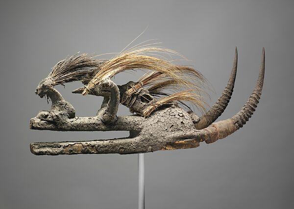 Kòmò Helmet Mask (Kòmòkun)   Komo or Koma Power Association   The  Metropolitan Museum of Art