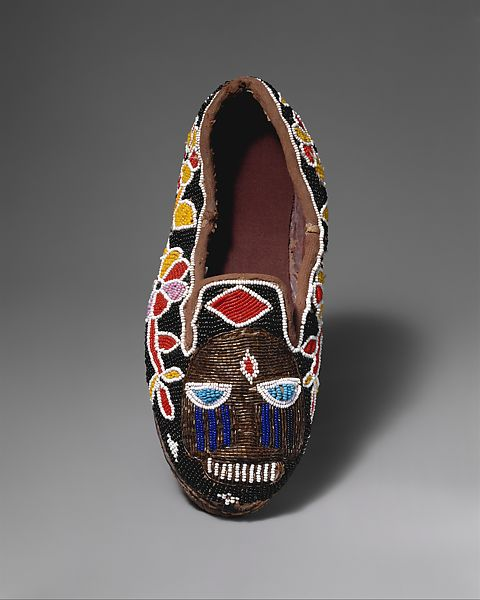 Workshop of Adesina - Shoe (Bata ileke) - Yoruba peoples - The Met