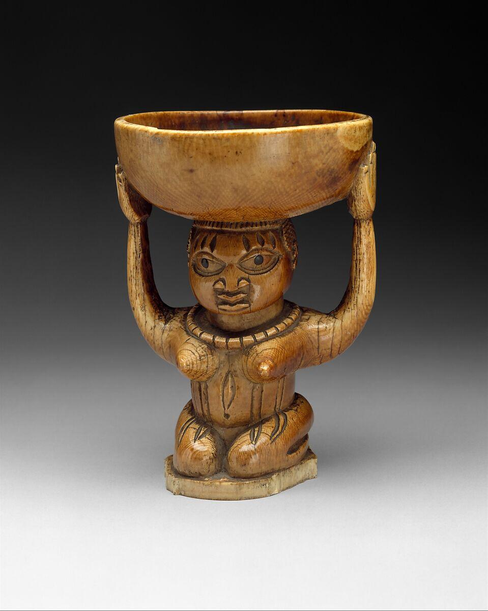 Ifa Divination Vessel: Female Caryatid (Agere Ifa) | Yoruba