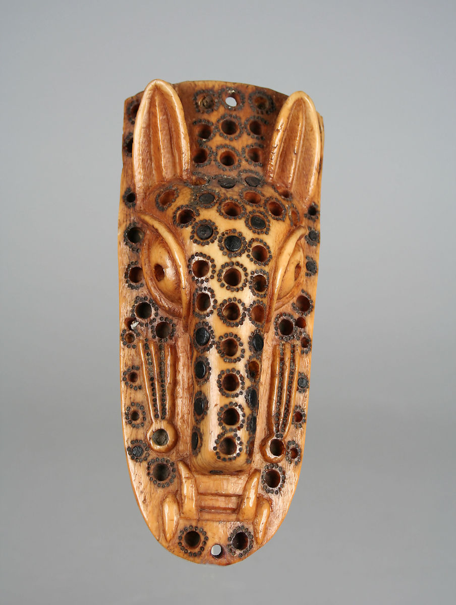 Masquerade Element: Leopard Head (Omama) | Yoruba peoples, Owo group | The Met