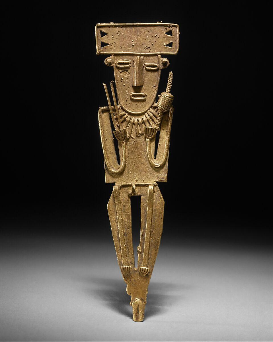 Male Figure (tunjo) | Muisca | The Met