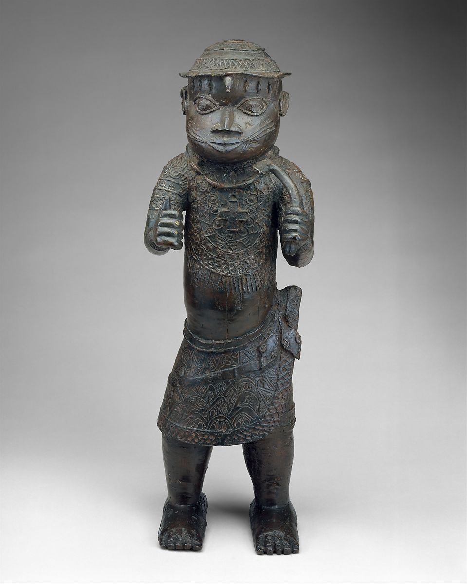 Figure: Court Official with Cross Pendant | Edo peoples | The Met