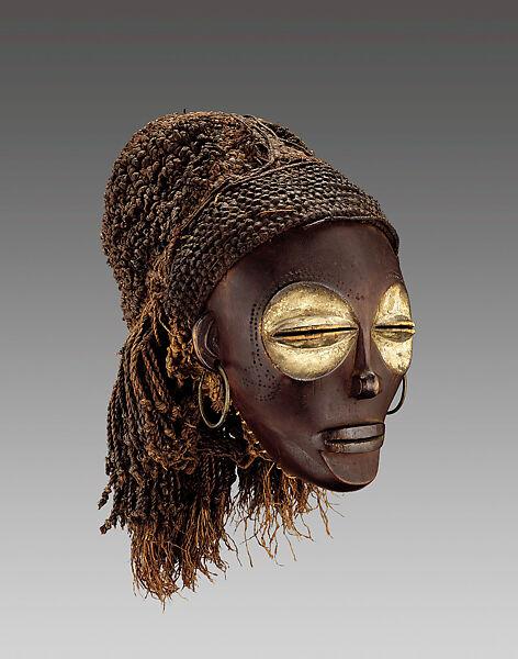 Pwo mask | Chokwe peoples | The Met