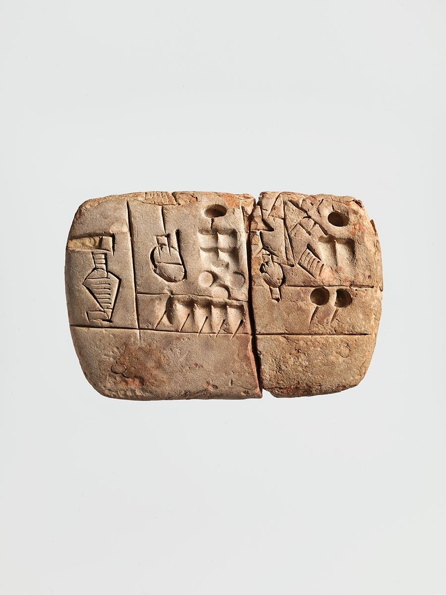 Clay for were used what tablets Long History