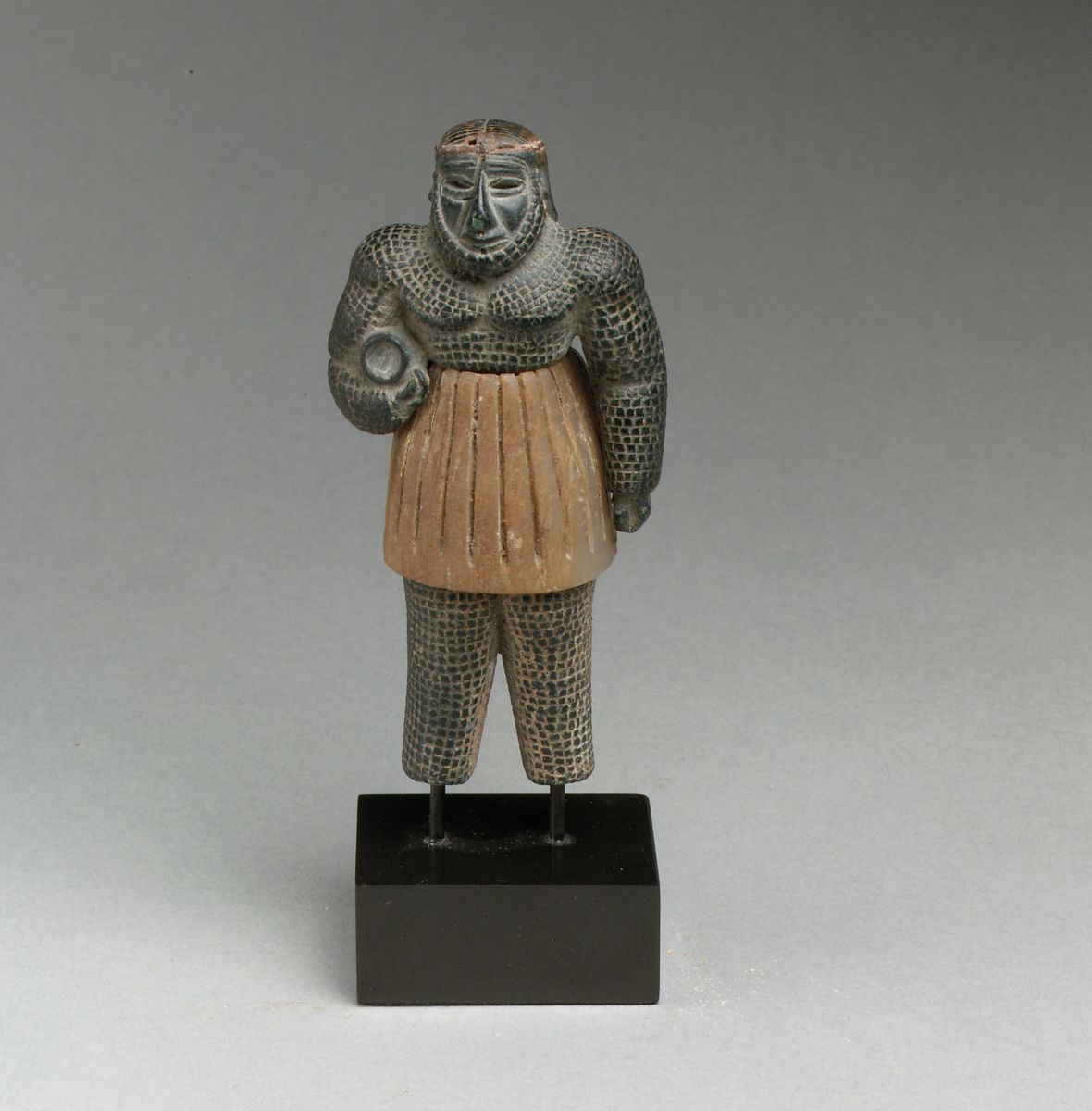 Monstrous male figure | Bactria-Margiana Archaeological Complex | Bronze Age | The Met
