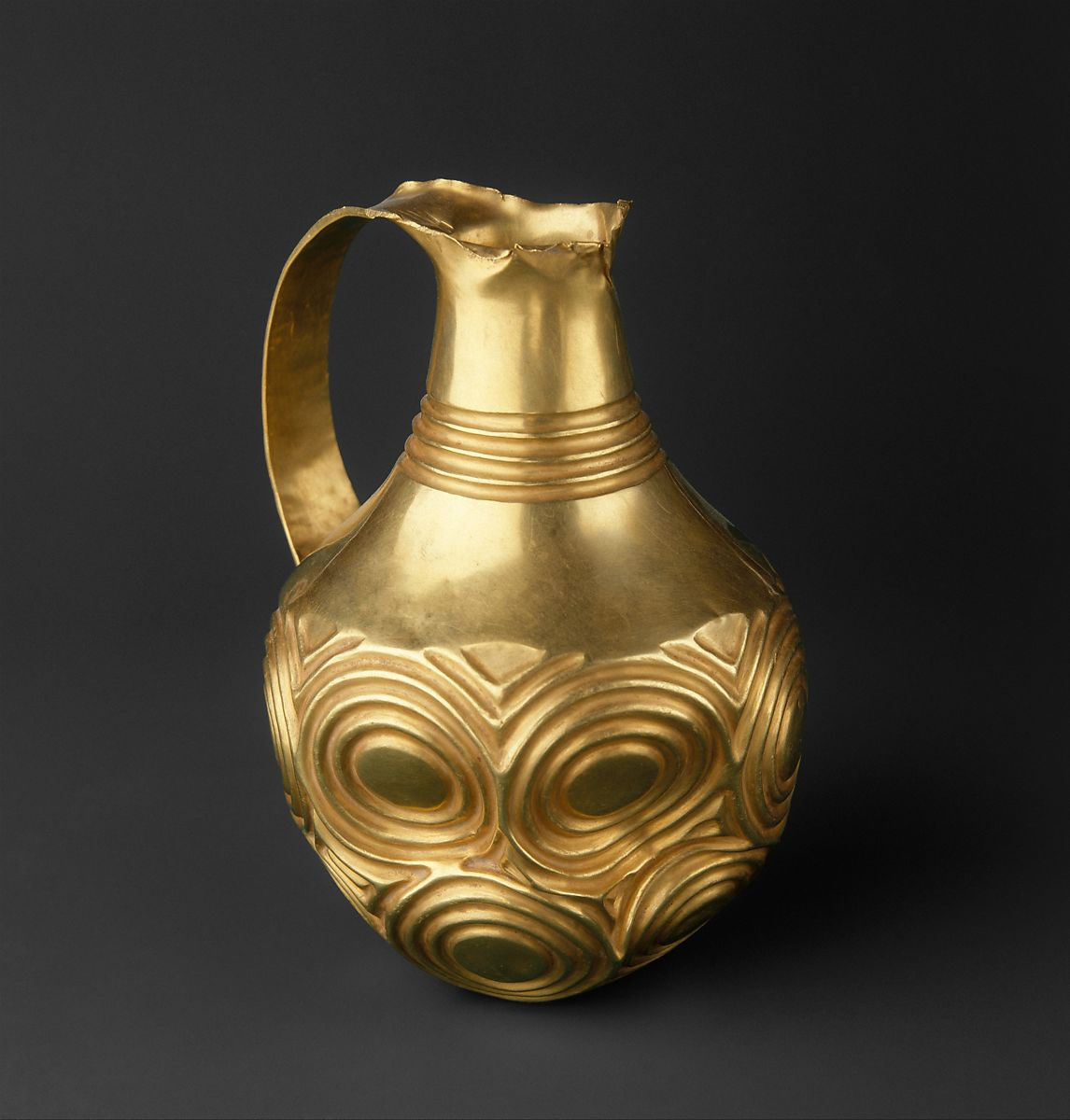 Ewer decorated with concentric circles | Hattian | Early Bronze Age II-III | The Met