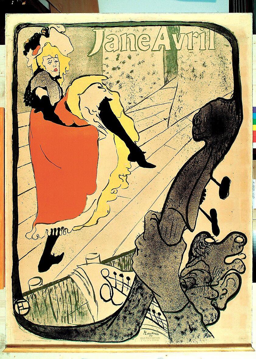 Henri De Toulouse Lautrec Jane Avril The Metropolitan Museum Of Art