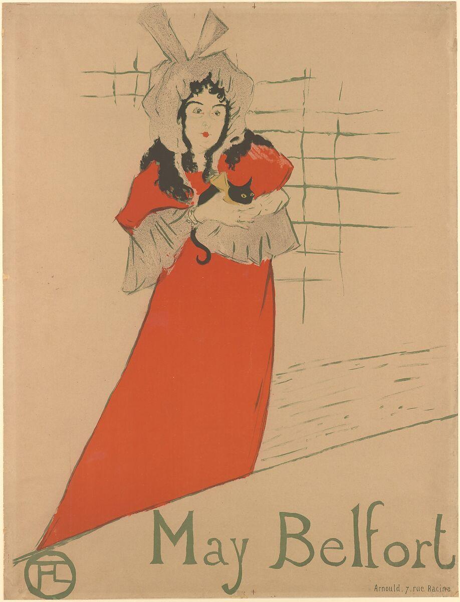 May Belfort; Henri de Toulouse Lautrec