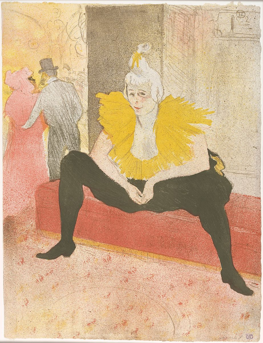 soft cover Gallery of Art Series Toulouse Lautrec Lithographies and Drawings