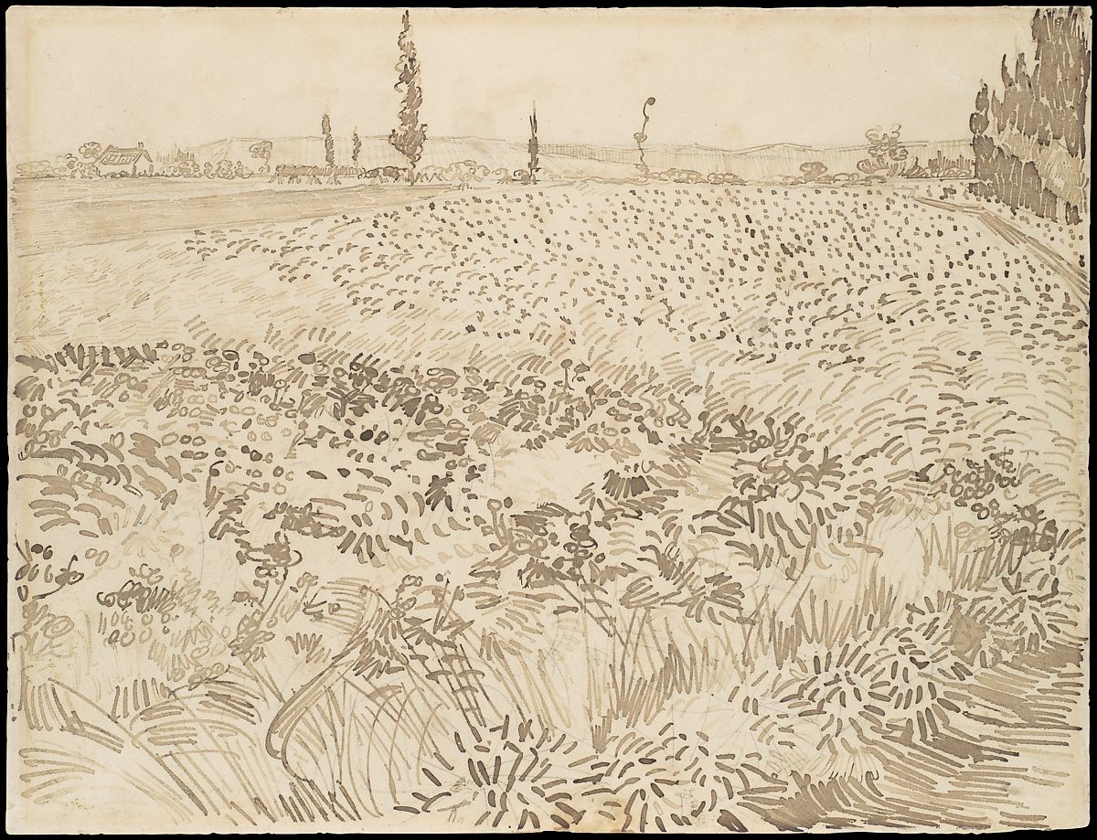Vincent van Gogh | Wheat Field | The Met