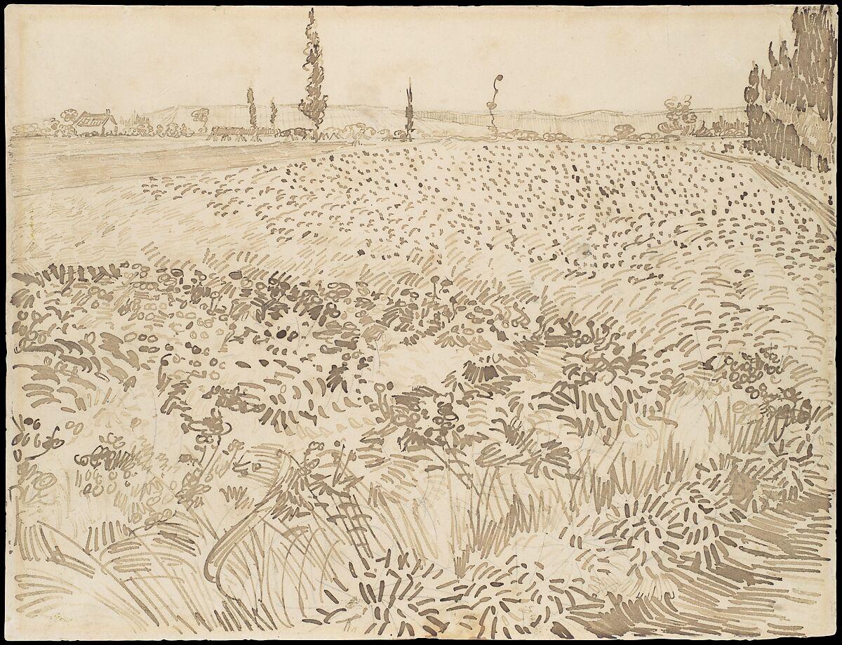 Vincent van Gogh | Wheat Field | The Met