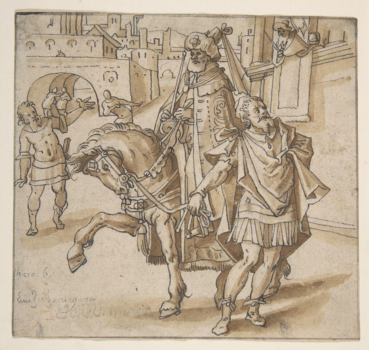 Attributed to Hans Ulrich Fisch vom Stein I | Triumph of Mordecai ...