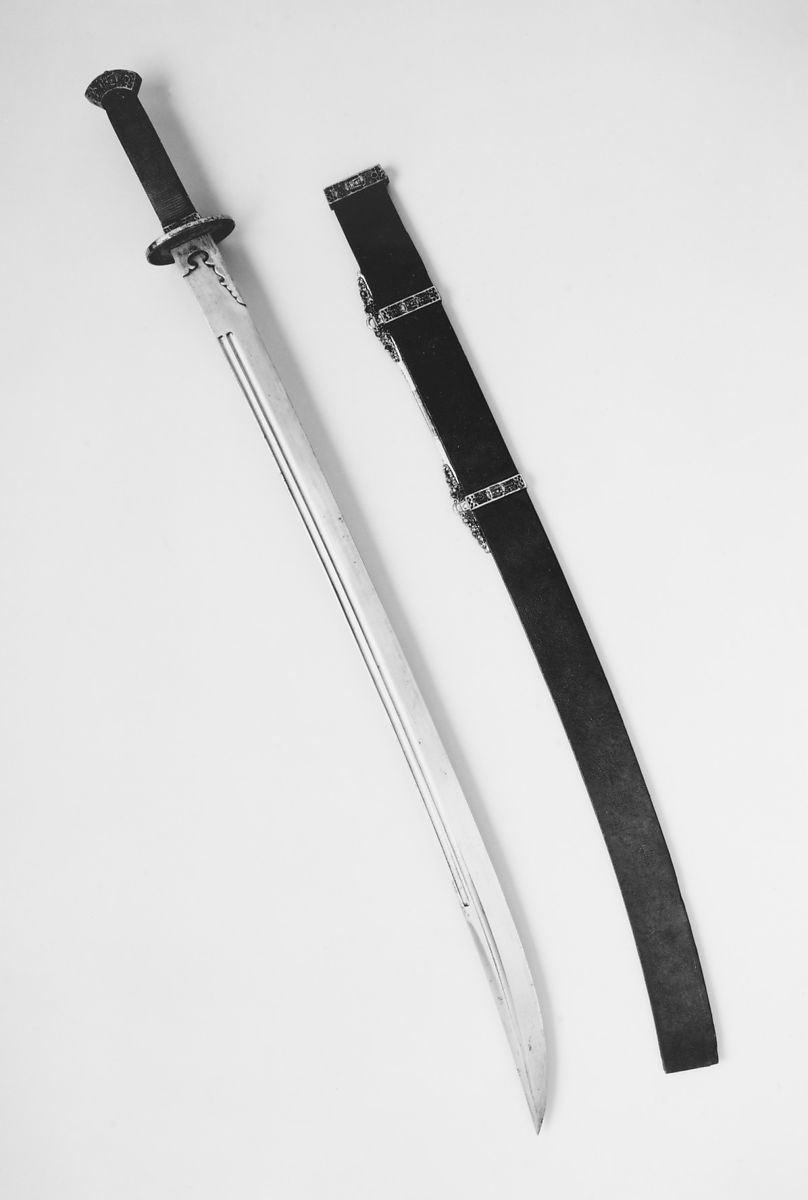 Sword with Scabbard | Chinese | The Met