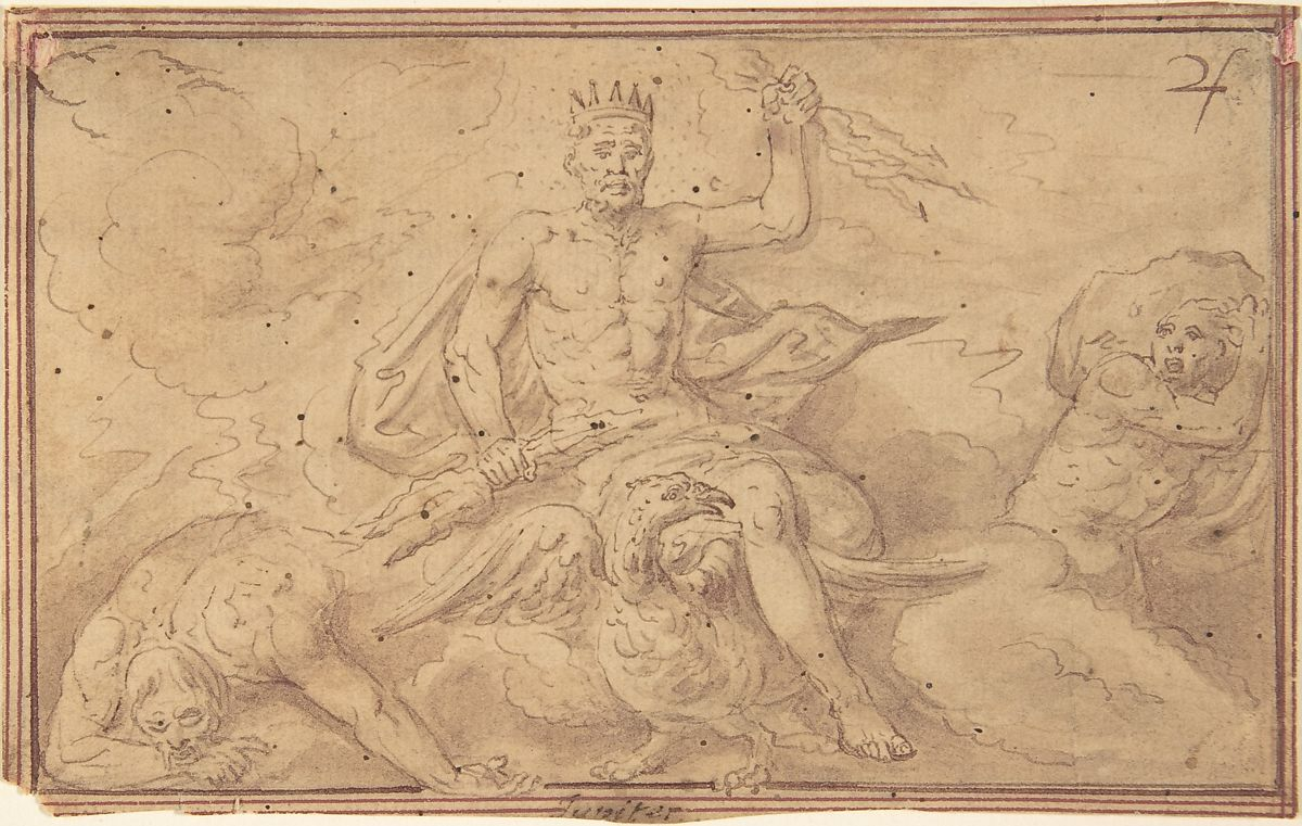 Anonymous, Netherlandish, 16th century | Drawings of the Zodiac | The Met