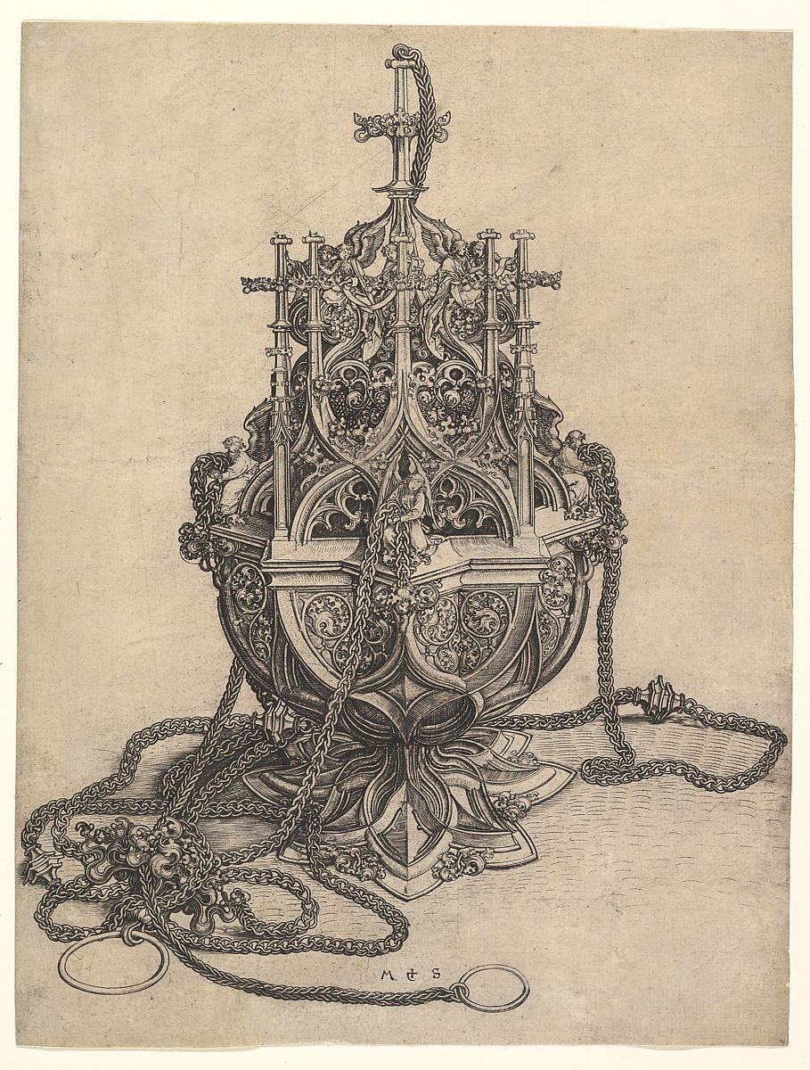Martin Schongauer | The Censer | The Met