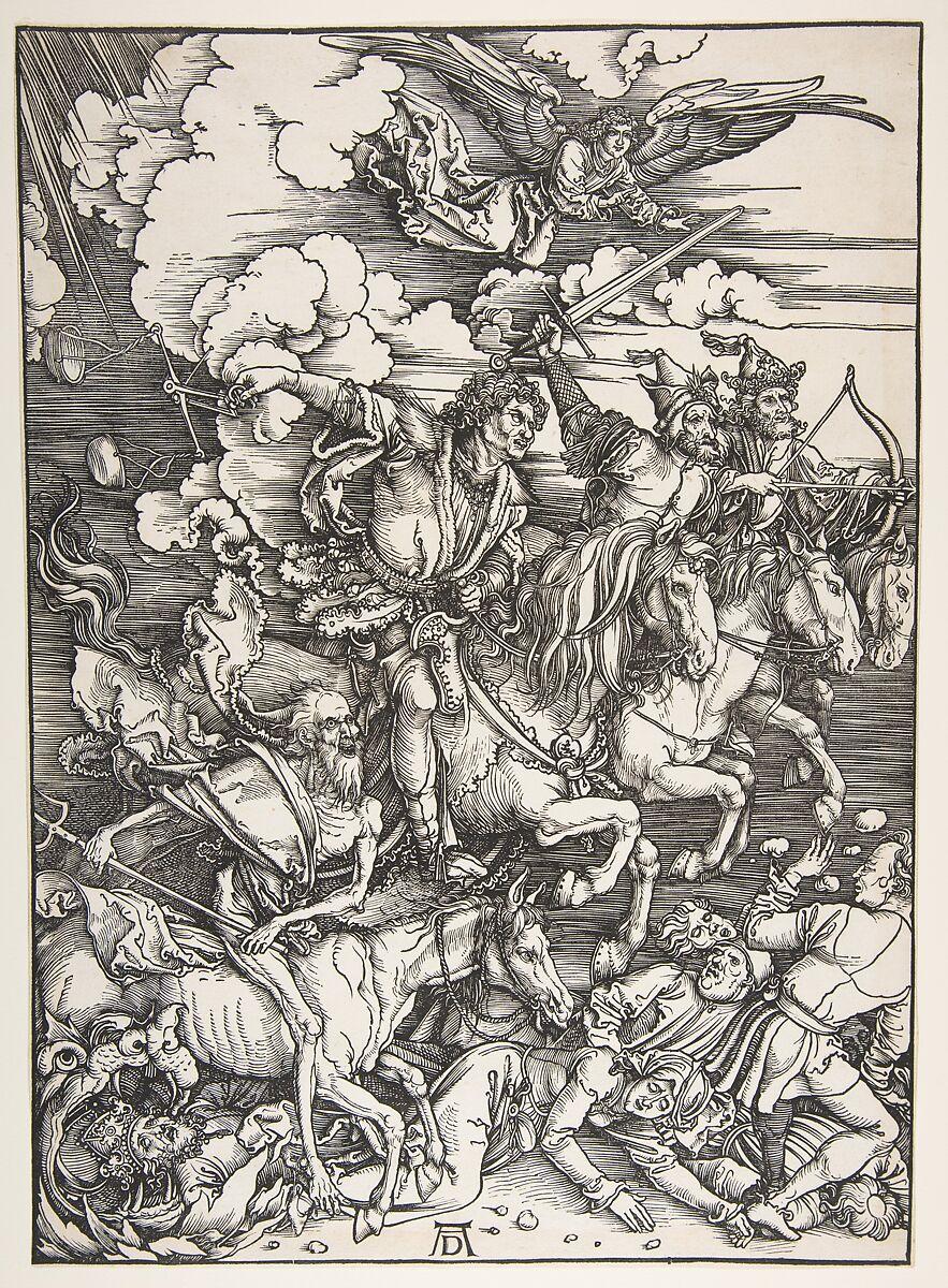 Albrecht Dürer | The Four Horsemen, from The Apocalypse | The Met