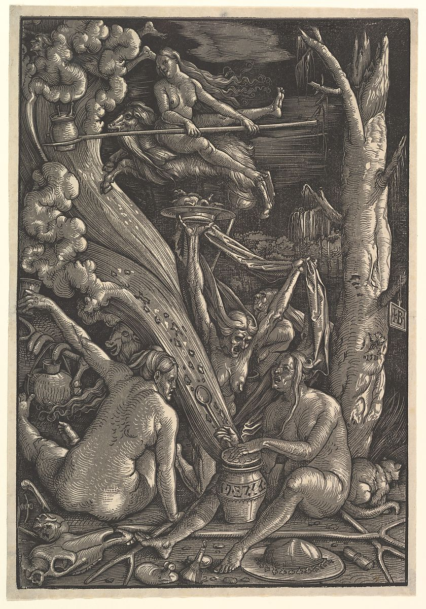 Image result for witches sabbath woodcut
