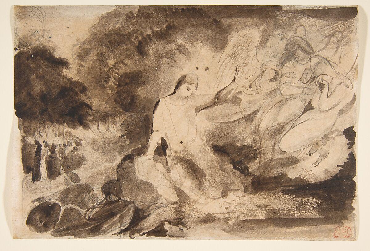 Eugène Delacroix | The Agony in the Garden | The Met