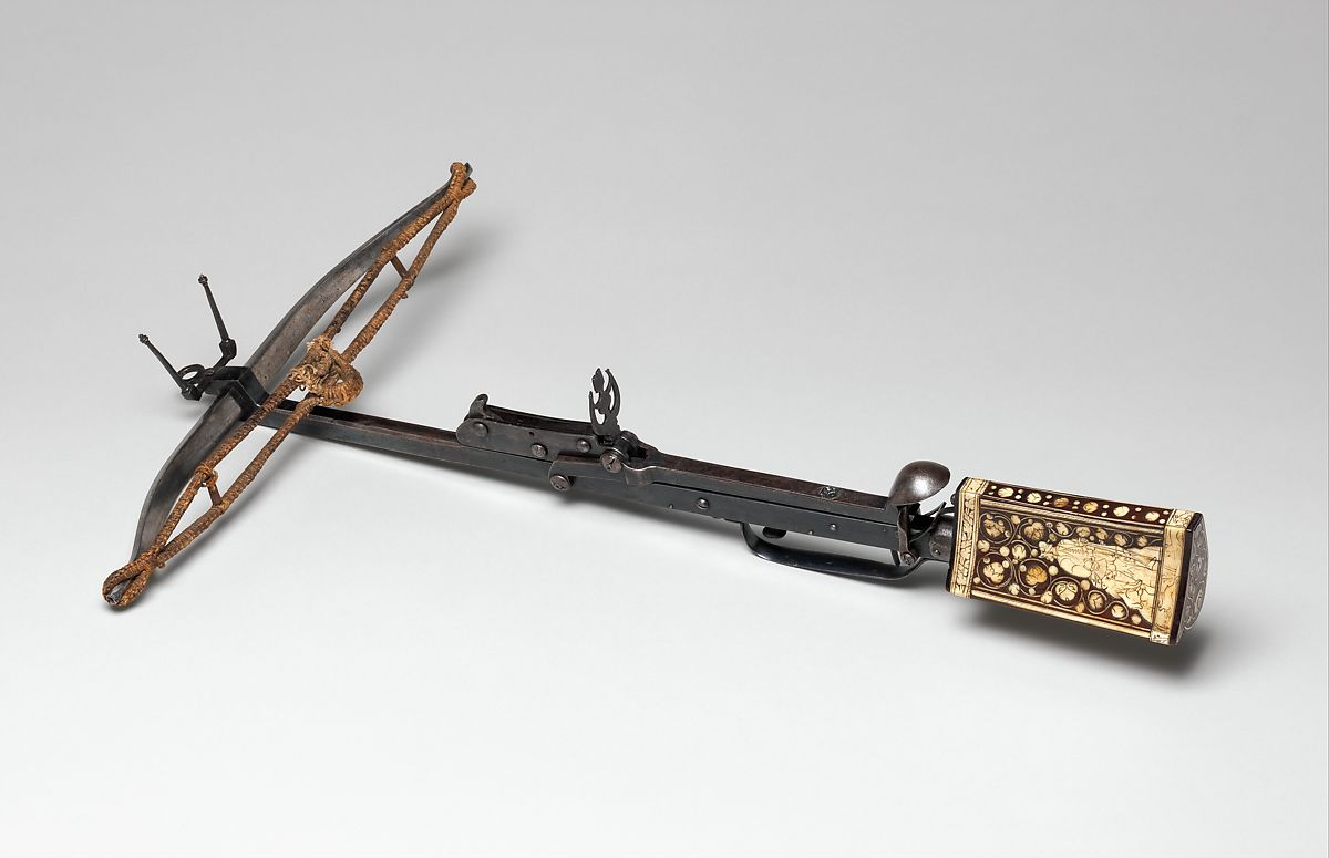 Pellet Crossbow   German   The Met