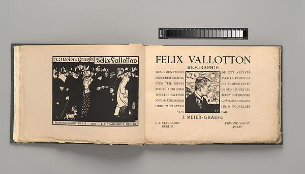 Julius Meier-Graefe | Félix Vallotton, Biographie | The Met