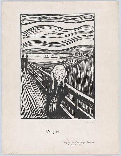 Edvard Munch   The Scream   The Met