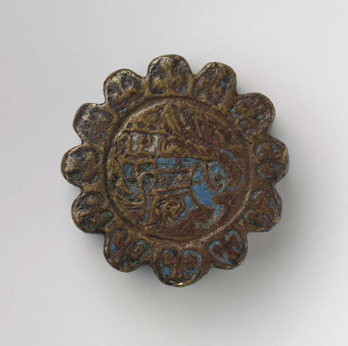 Round Dagger Pommel with Scalloped Edges | French | The Met