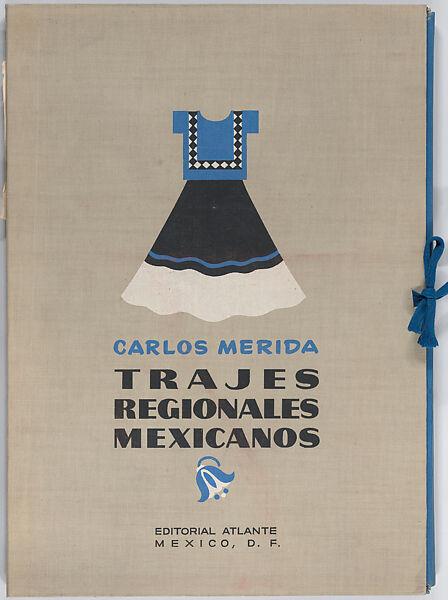 Carlos Mérida Trajes Regionales Mexicanos Regional