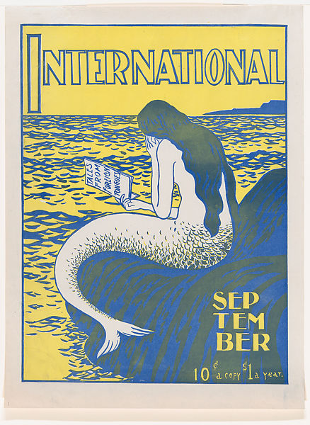 The International: September, Anonymous, American, 19th century, Lithograph