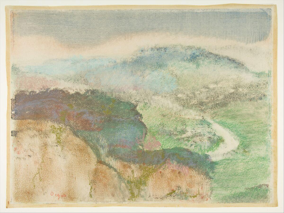 Edgar Degas | Landscape | The Met