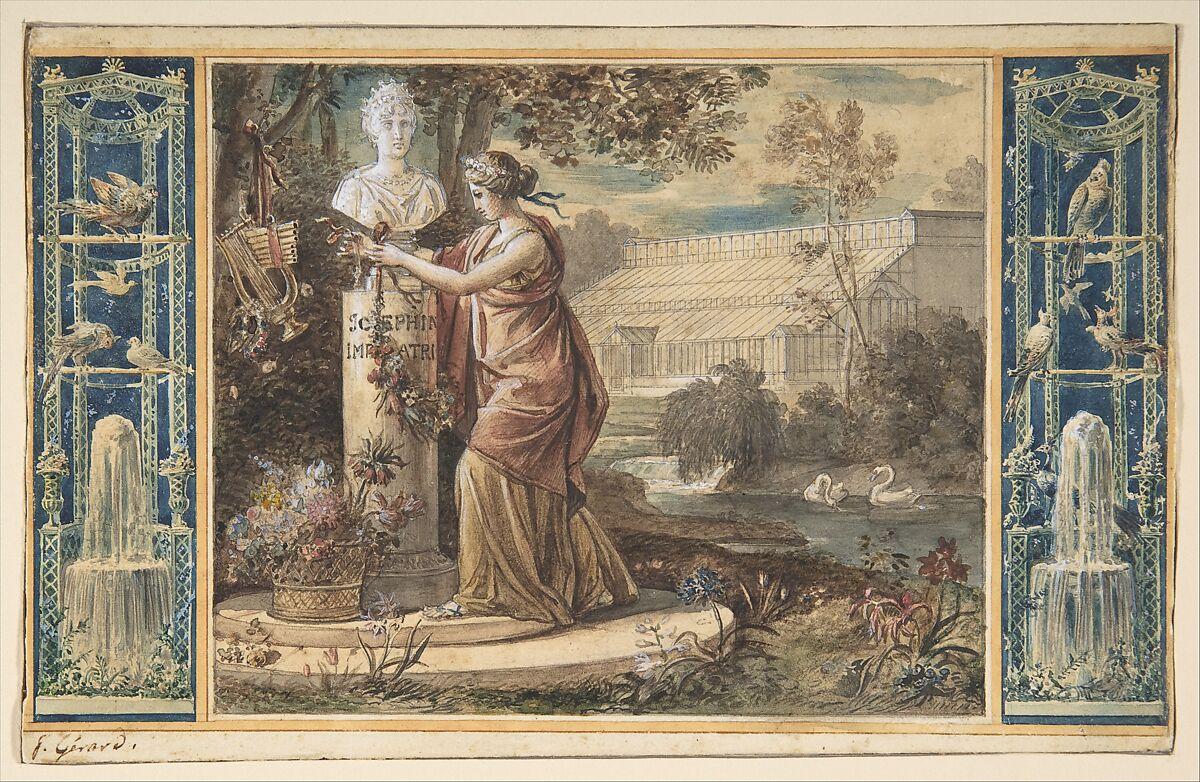 baron François Gérard | An Allegory of Empress Josephine as ...