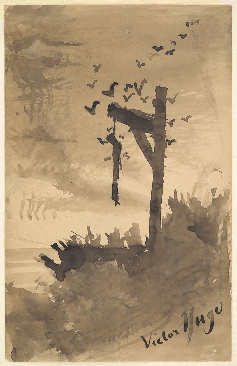 Victor Hugo | The Hanged Man | The Met