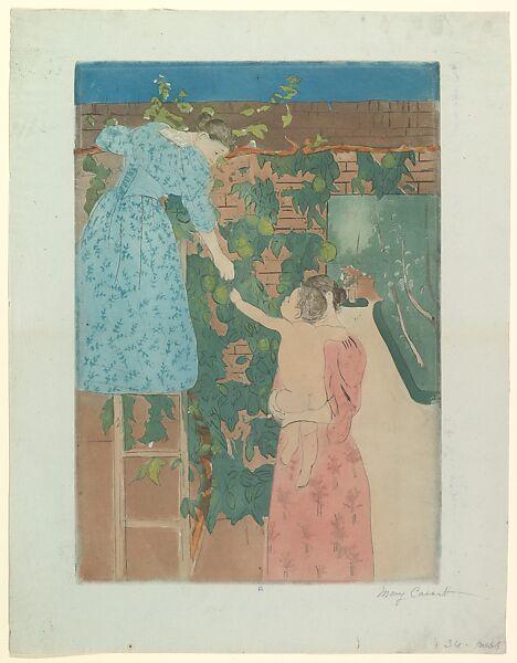 Mary Cassatt | Gathering Fruit | The Met