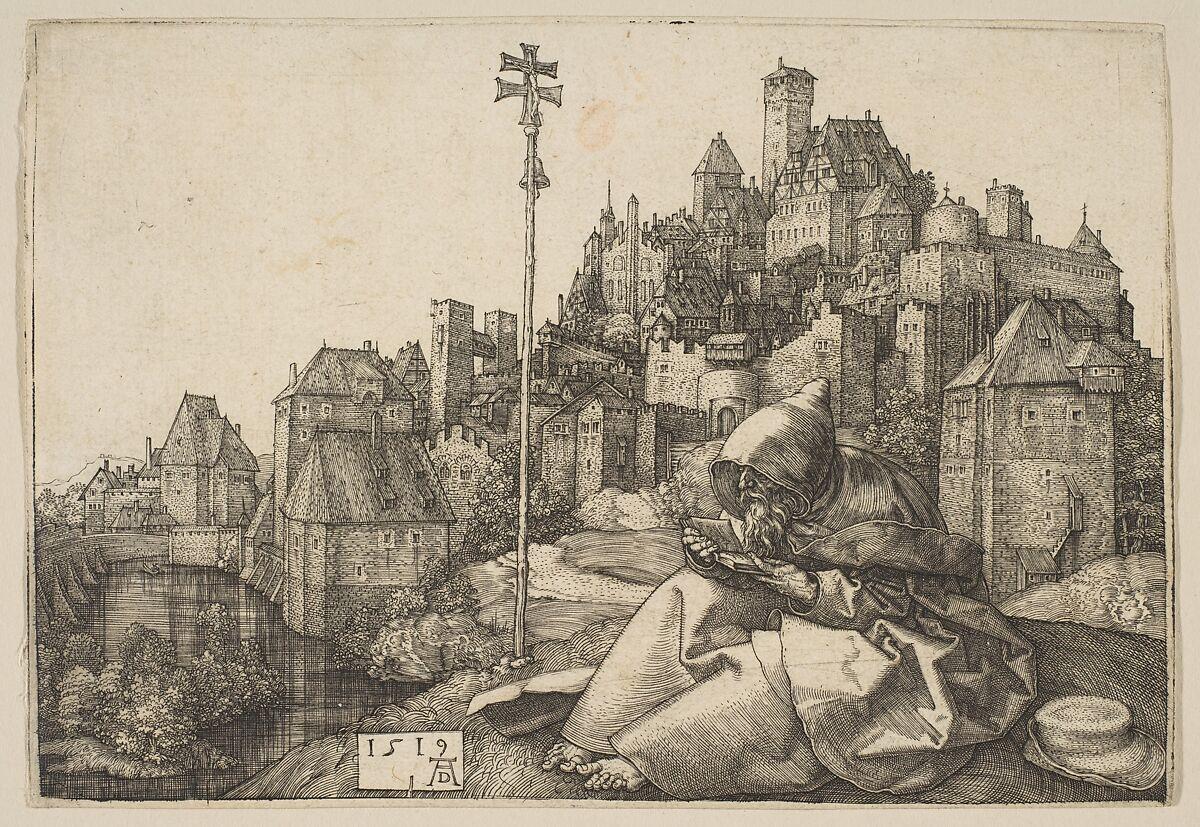 Albrecht Dürer | Saint Anthony Reading | The Met