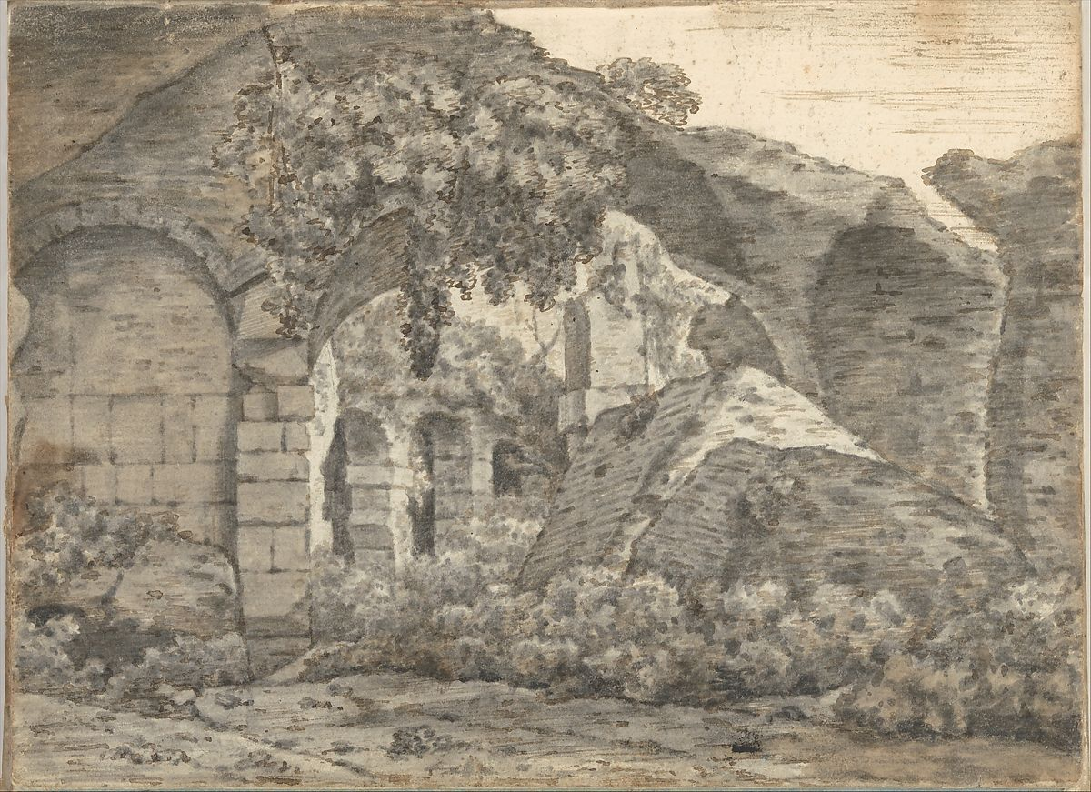 Joseph Wright (Wright of Derby) | Smaller Italian Sketchbook (containing 43 drawings on 44 leaves) | The Met
