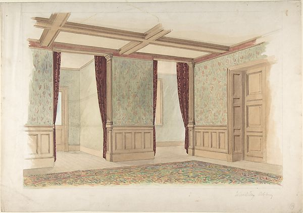 John Gregory Crace | Whitley Abbey, interior | The Met