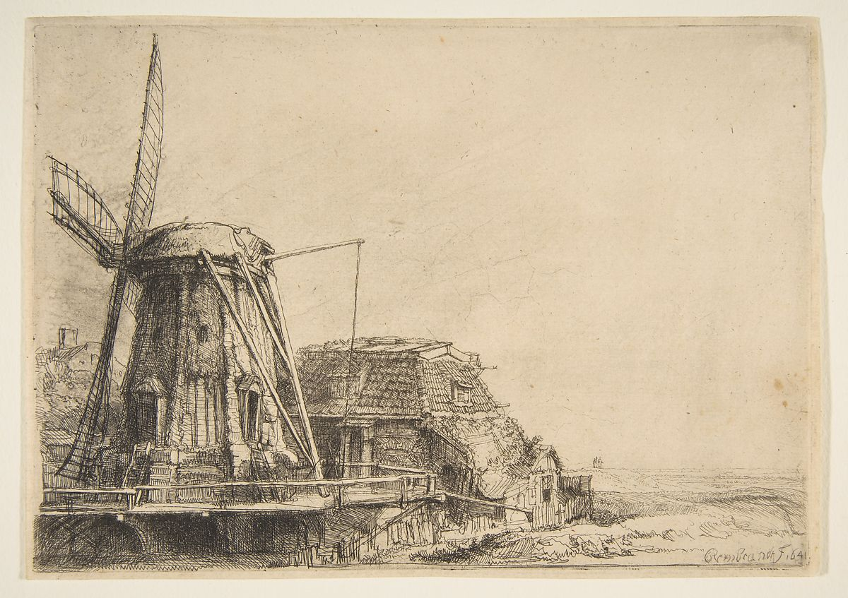 Rembrandt (Rembrandt van Rijn) | The Windmill | The Met