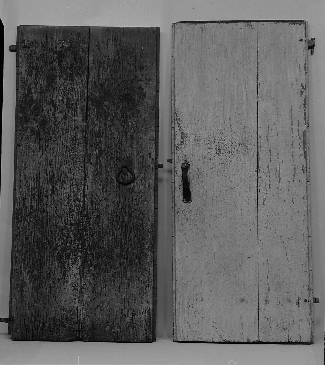 Batten Door From The Williams House, Near Preston, Connecticut, Pine,  American