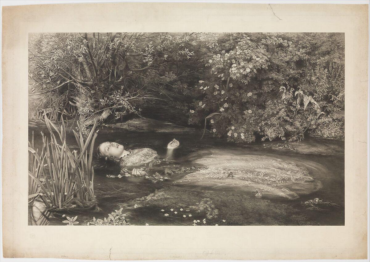Ophelia Shakespeare: After Sir John Everett Millais