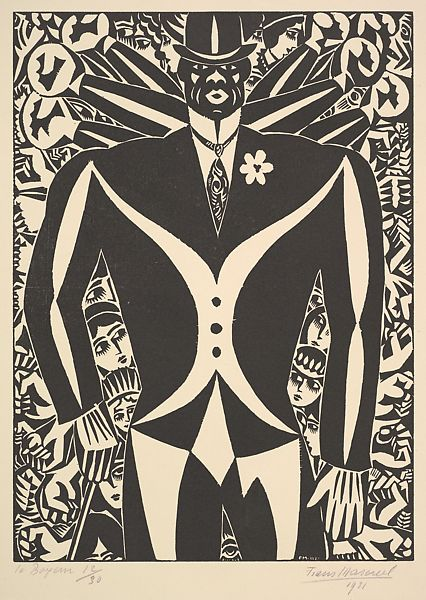 Frans Masereel | The Boxer (Le Boxeur) | The Met