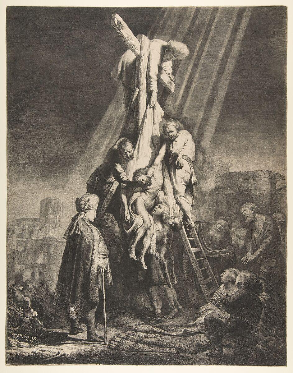 Rembrandt (Rembrandt van Rijn) | Descent from the Cross ...