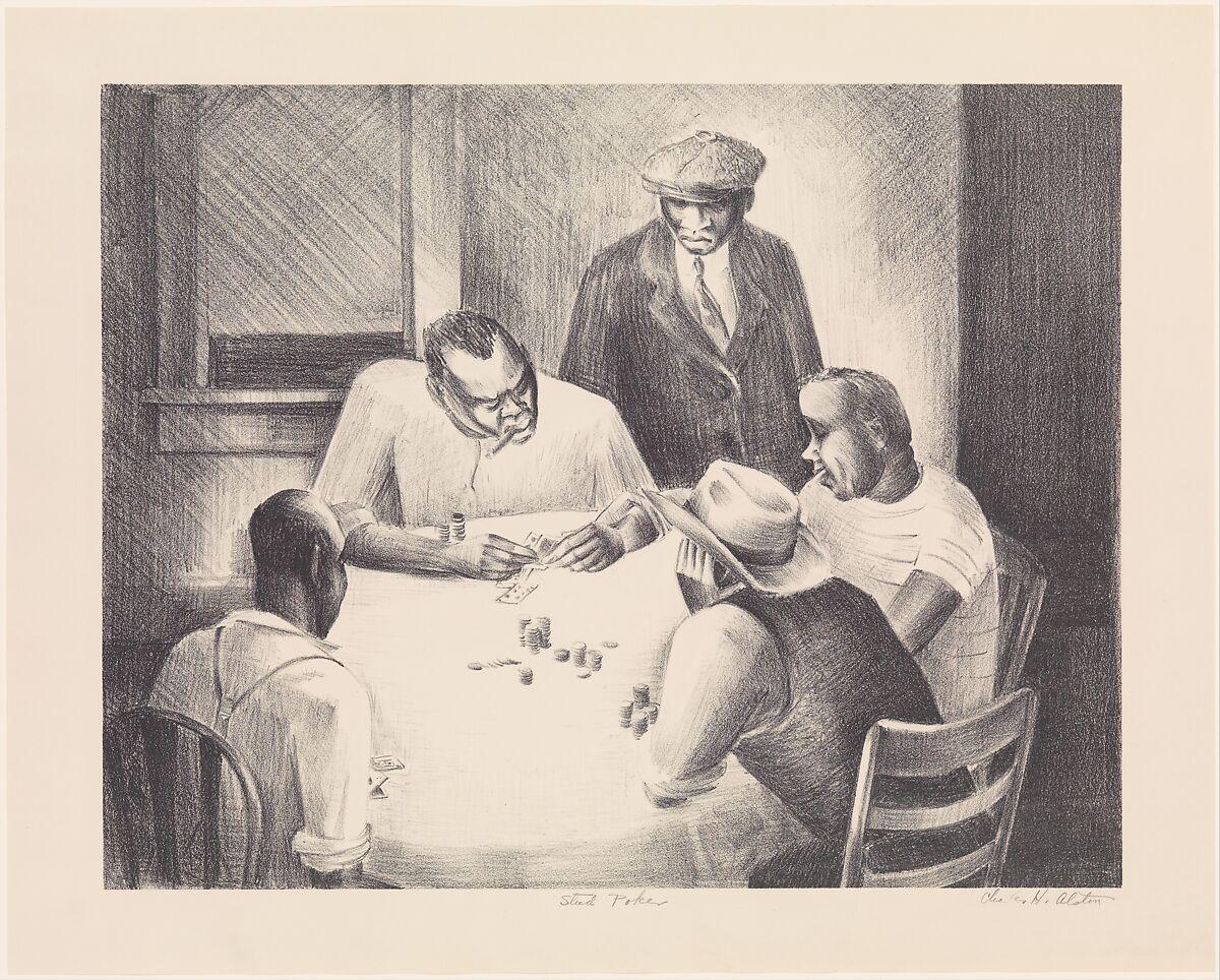 Charles Henry Alston Stud Poker The Metropolitan Museum Of Art