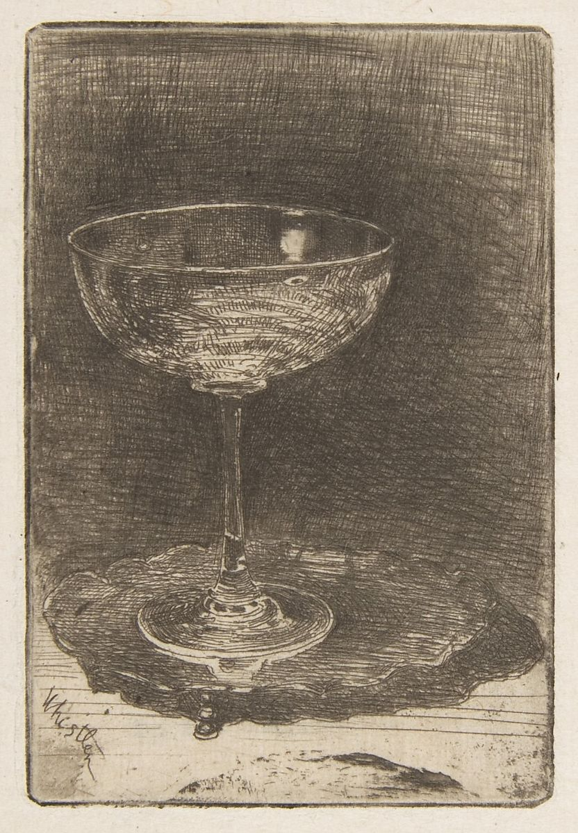 James McNeill Whistler   The Wine Glass   The Met