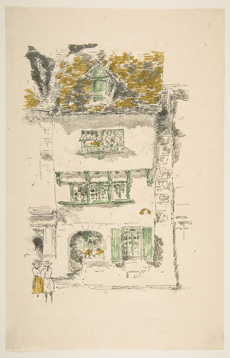 James McNeill Whistler | Yellow House, Lannion | The Met