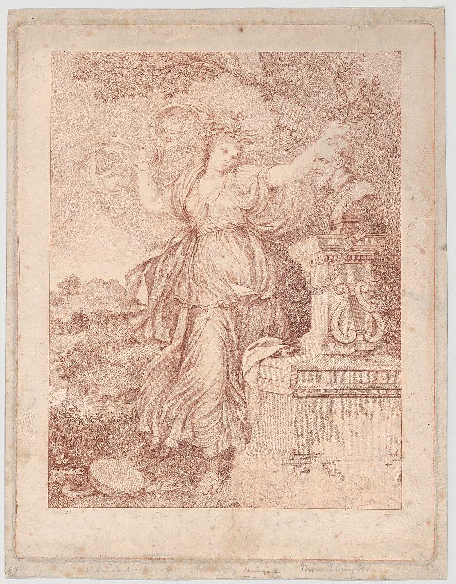 Francesco Bartolozzi   Mrs. Abington as Thalia   The Met