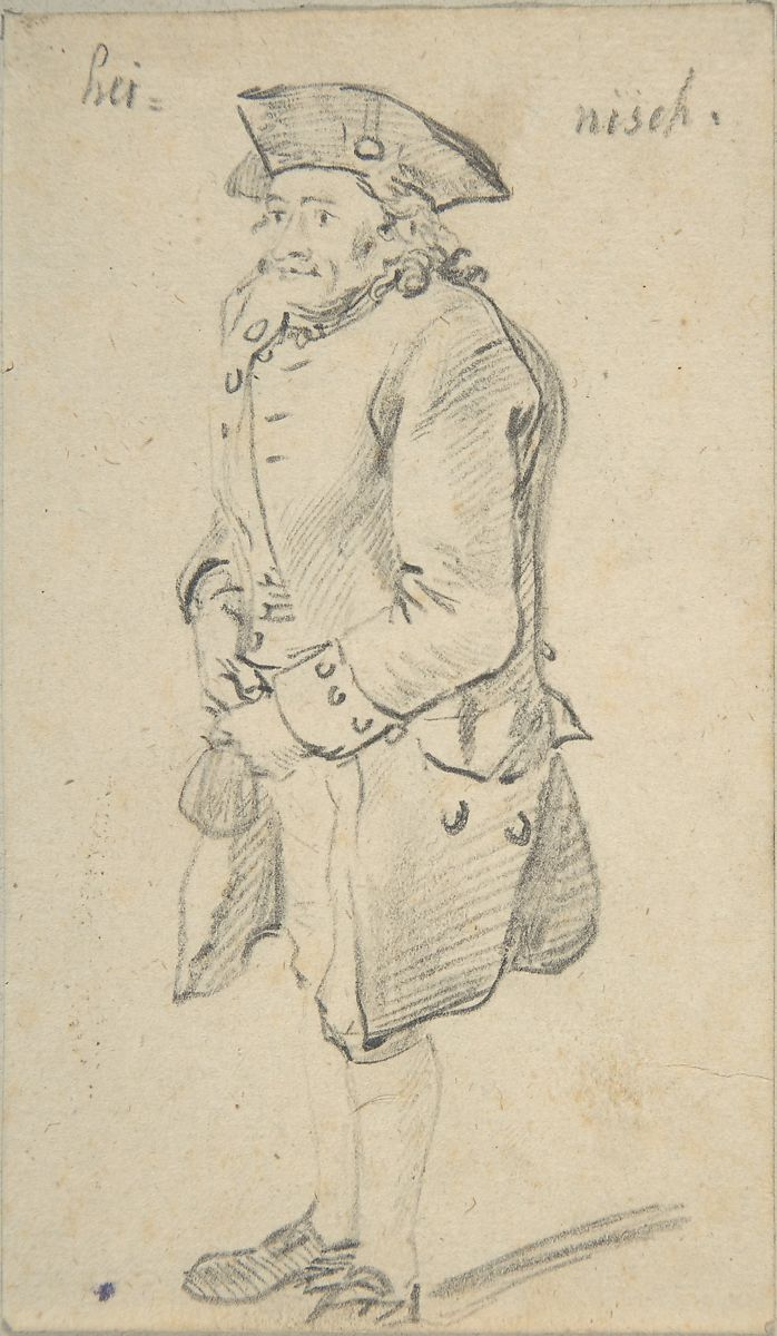 Johann Christian Reinhart | Standing Man | The Met