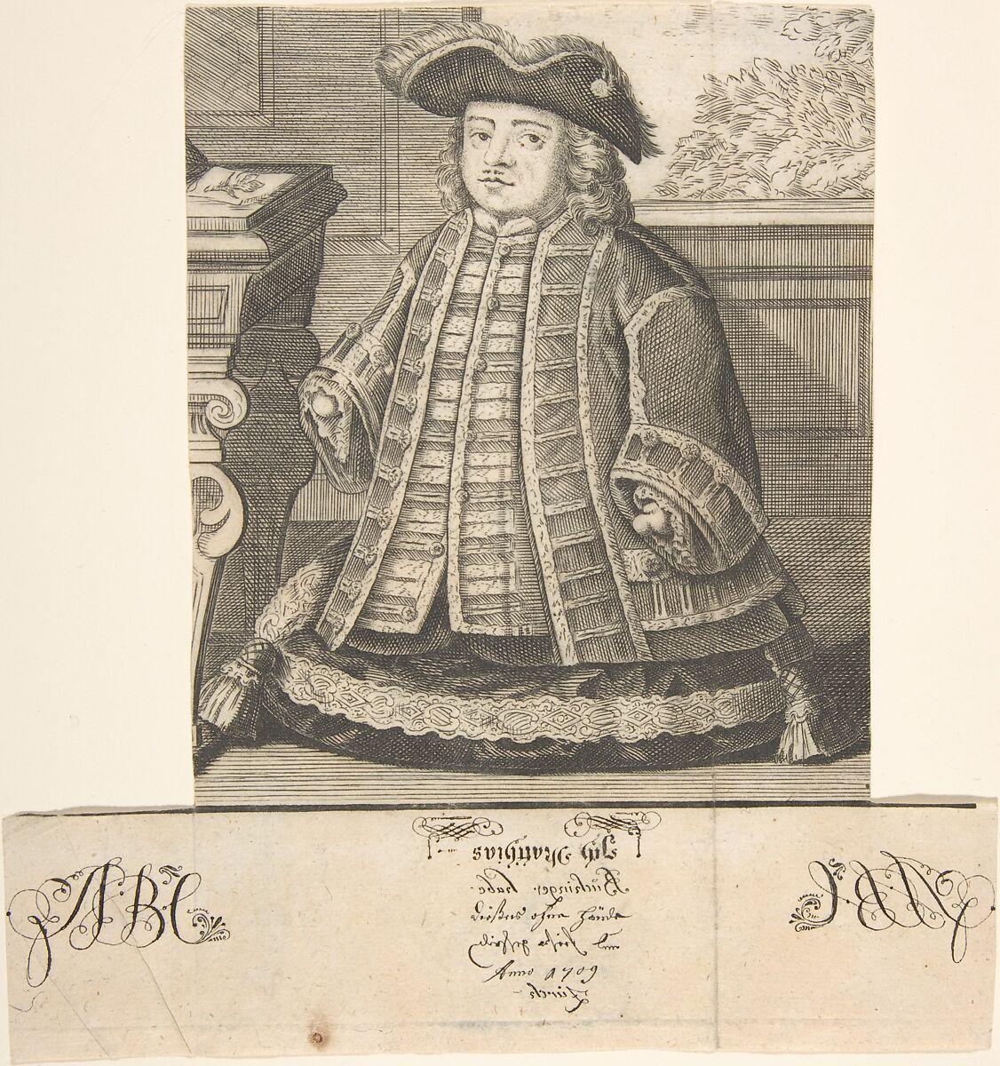 Anonymous | Portrait of Matthias Buchinger (1674-1739) | The Met