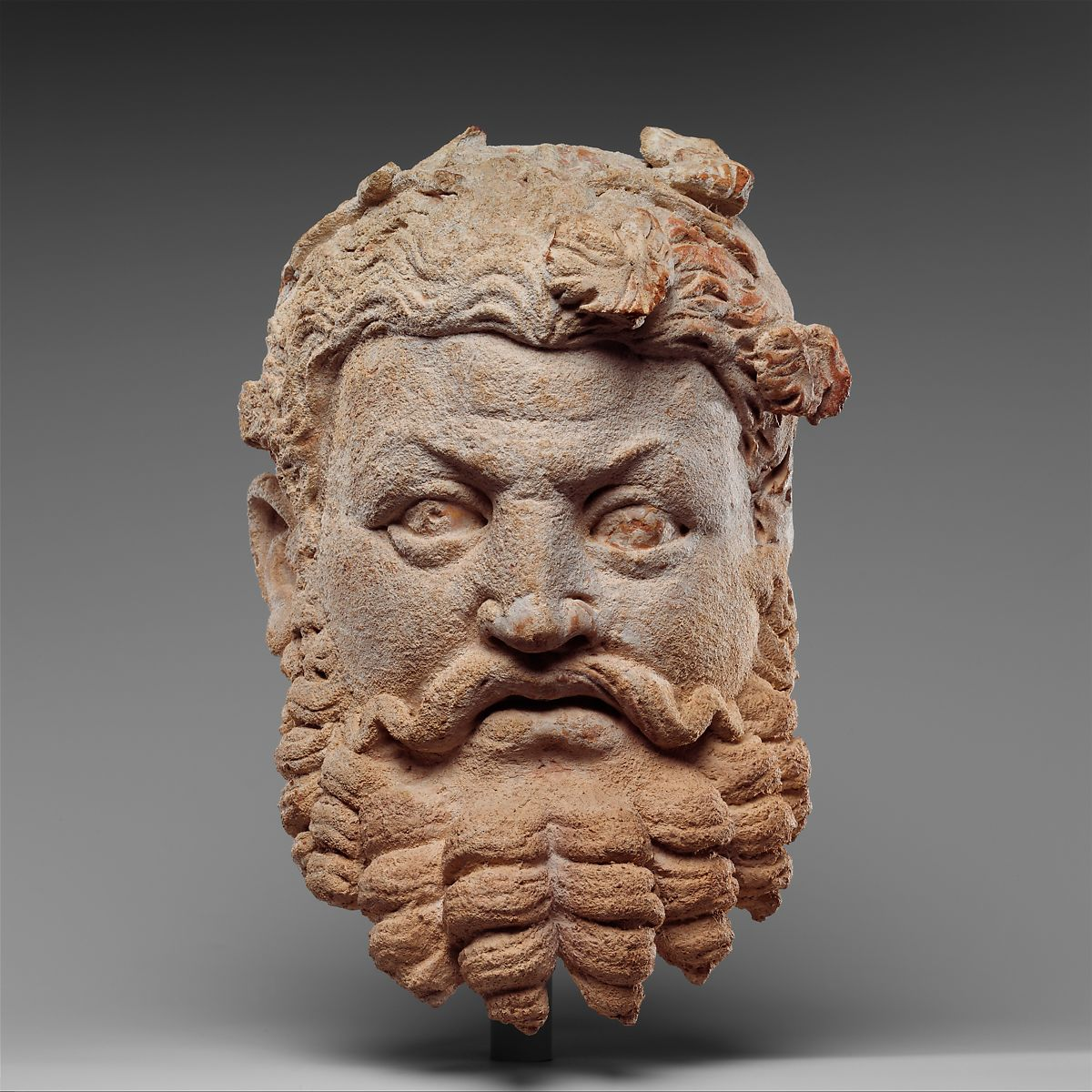 dyonisos  Head of Dionysos (The God of Wine and Divine Intoxication ...